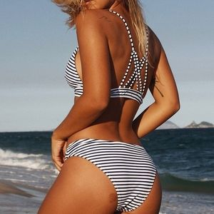 Cupshe Striped Bikini